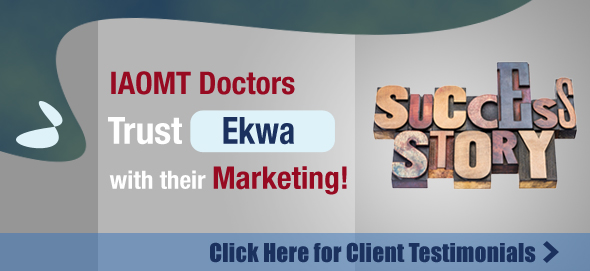 IAOMT doctors trust ekwa with their marketing