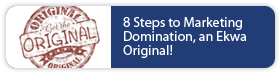 8 Steps to Marketing Domination, an Ekwa Original!