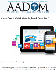 Is your Dental Website Mobile Search Optimized?
