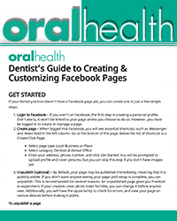 Dentist's guide to creating and customizing Facebook pages
