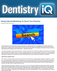 Using Internet Marketing To Grow Your Practice