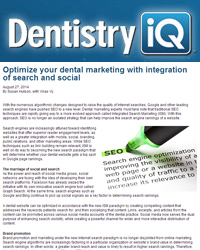 Optimize your dental marketing with integration of search and social