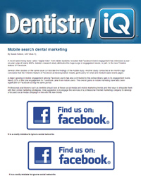 Mobile search dental marketing