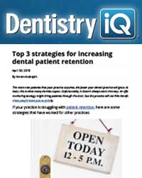 Top three strategies for increasing patient retention