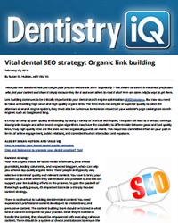 Vital dental SEO strategy: Organic link building