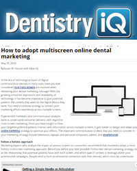 How to adopt multiscreen online dental marketing