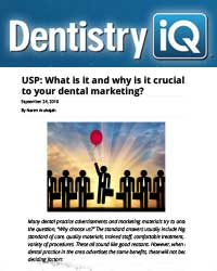 USP: What it is and why it is crucial to your dental marketing