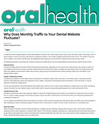 Why does Monthly Traffic to your Dental Website Fluctuate?