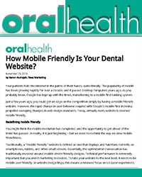 How mobile friendly is your dental website?