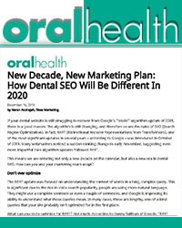 New decade, new marketing plan: how dental SEO will be different in 2020