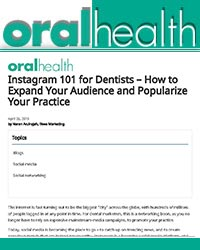 Instagram 101 for Dentists – How to Expand Your Audience and Popularize Your Practice