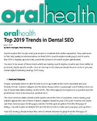 Top 2019 Trends in Dental SEO