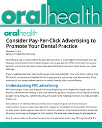 Consider Pay-Per-Click Advertising to Promote Your Dental Practice