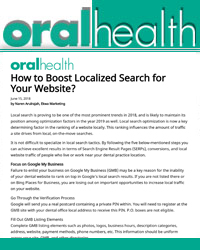 How to Boost Localized Search for Your Website?