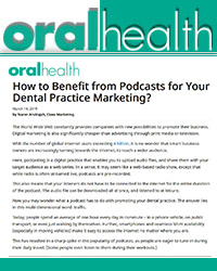 How to Benefit from Podcasts for Your Dental Practice Marketing?