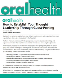 How to Establish Your Thought Leadership through Guest-Posting?