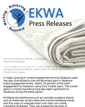 Ekwa Releases a New Book on Brand Marketing for Doctors