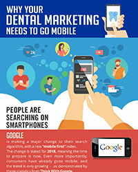 As seen in the May 2018 issue of Oral Health Blog - Why your dental marketing needs to go mobile