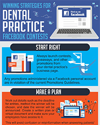 As seen in the April 2017 Issue of Oral Health Blog - Winning Strategies for Dental Practice Facebook Contests