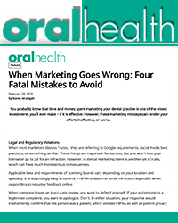 When marketing goes wrong: four fatal mistakes to avoid