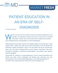 Patient education in an era of self-diagnosis