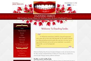 Ekwa SEO Marketing Services - Ekwa Dentistry Design 1