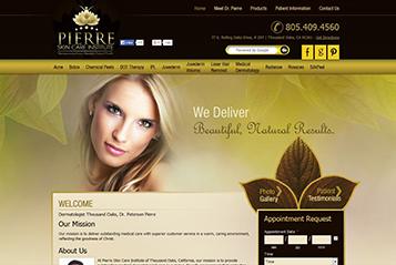 Ekwa SEO Marketing Services - Ekwa Dermatology Design 2