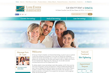Ekwa SEO Marketing Services - Ekwa Dermatology Design 3