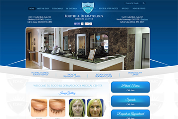 Ekwa SEO Marketing Services - Ekwa Dermatology Design 1